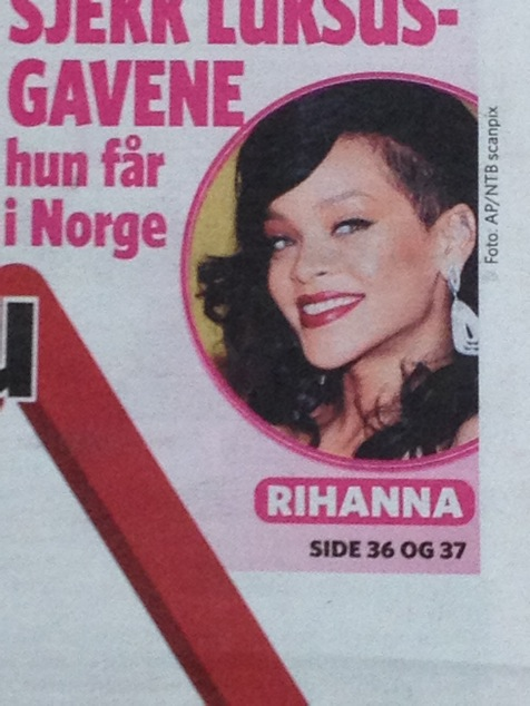 Fete gaver til Rihanna