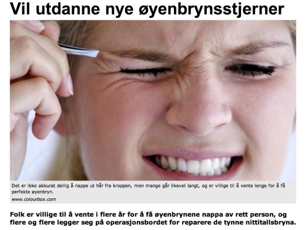 Artikkel fra NRK